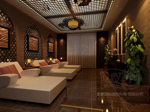 杭州思域美容院装修设计