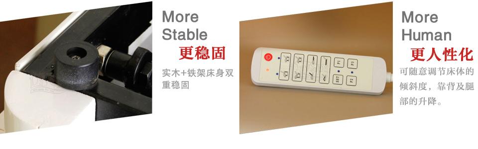 豪华电动美容床 S-110013