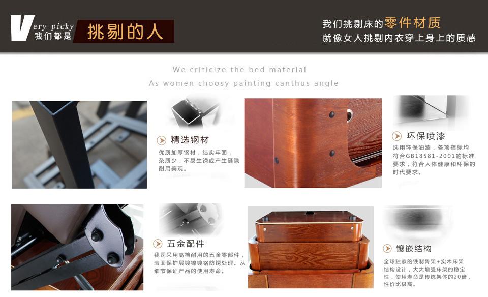 太空软垫豪华电动美容床 DS-110010