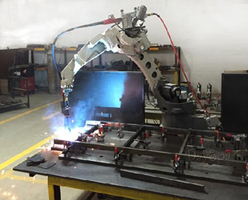 机器人焊接美容床架